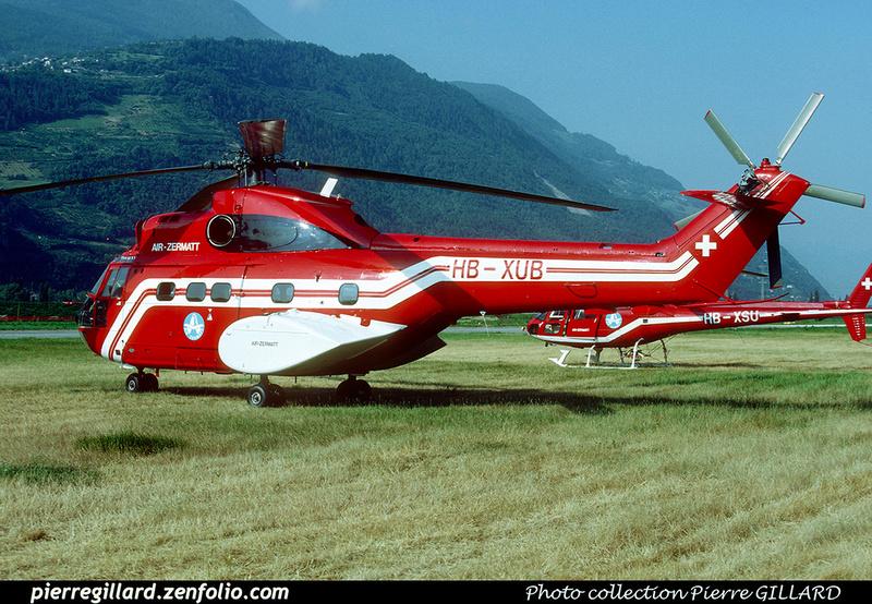 Pierre GILLARD: Air Zermatt - Helicopters &emdash; 021273