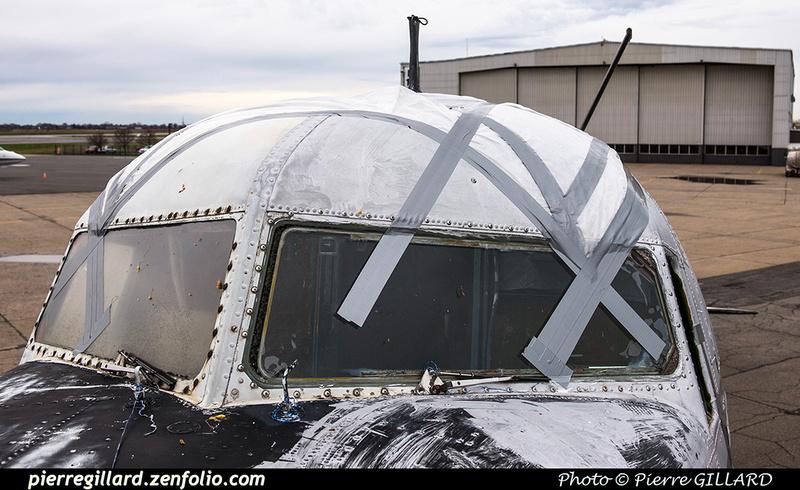Pierre GILLARD: 2018-04-11 au ? - Réparation préliminaire de la porte avant du DC-3 C-FDTD &emdash; 2018-617272