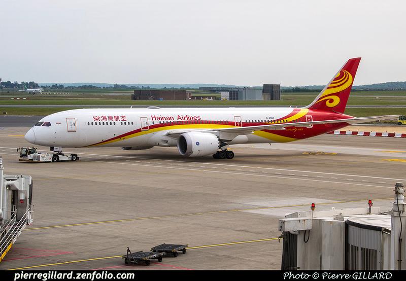 Pierre GILLARD: Hainan Airlines - 海南航空公司 &emdash; 2018-524941