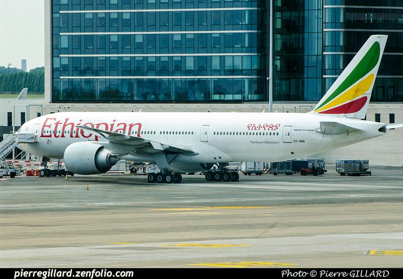 Pierre GILLARD: Ethiopian Airlines &emdash; 2018-709986