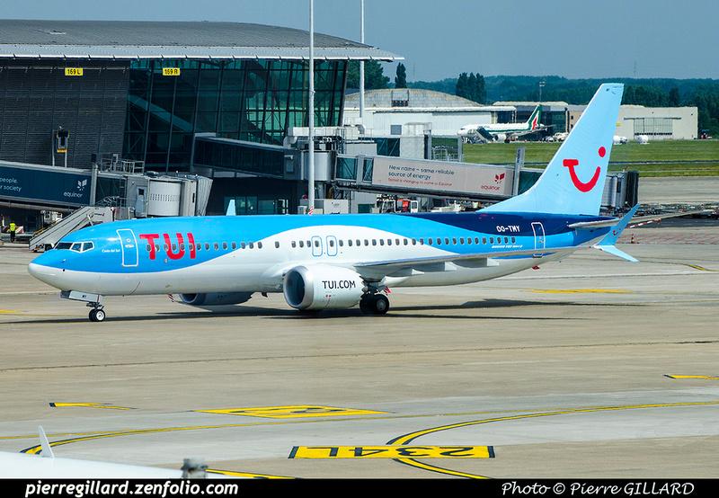 Pierre GILLARD: TUI Airlines Belgium &emdash; OO-TMY-2018-709962