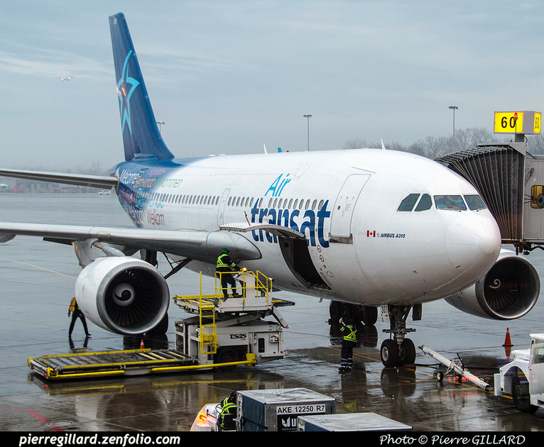 Pierre GILLARD: Air Transat &emdash; 2018-522946