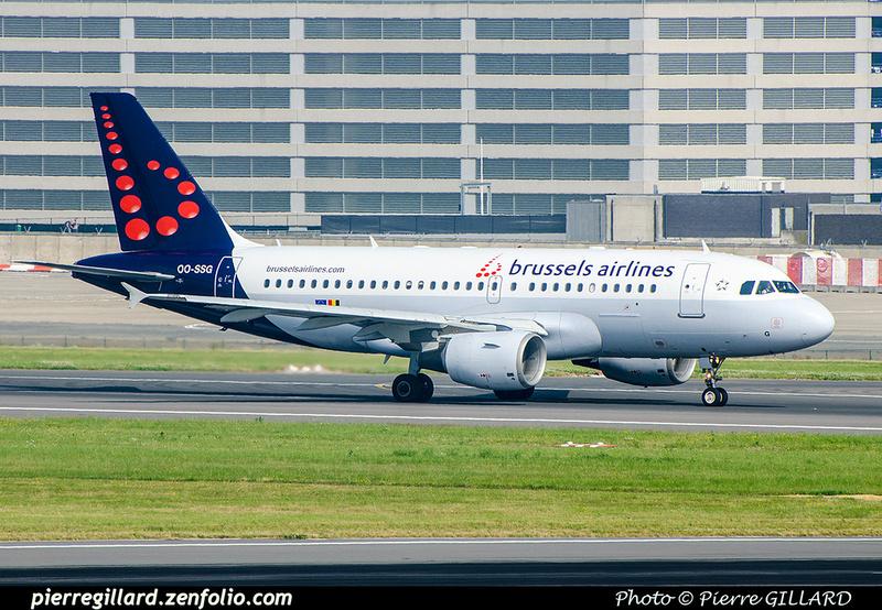Pierre GILLARD: Brussels Airlines &emdash; OO-SSG-2018-709254