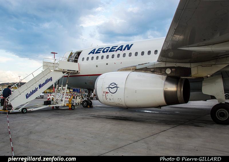 Pierre GILLARD: Aegean Airlines &emdash; 2018-523517