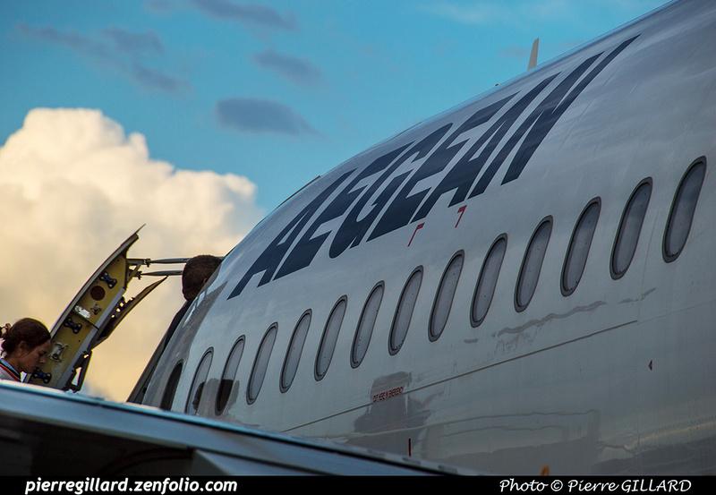 Pierre GILLARD: Aegean Airlines &emdash; 2018-523521