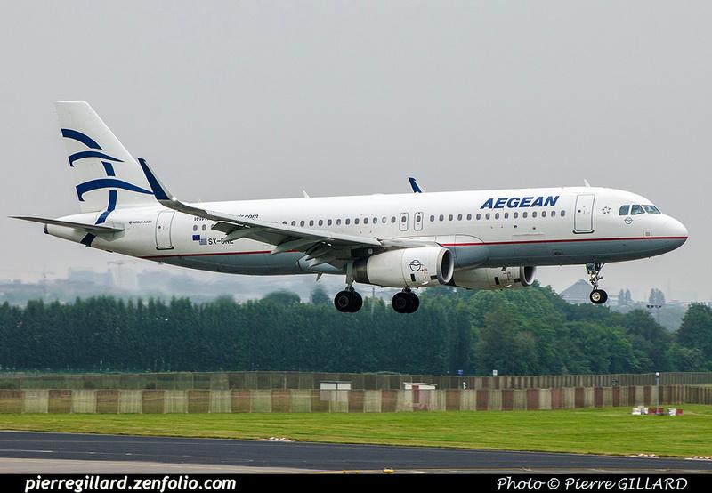 Pierre GILLARD: Aegean Airlines &emdash; 2018-708613