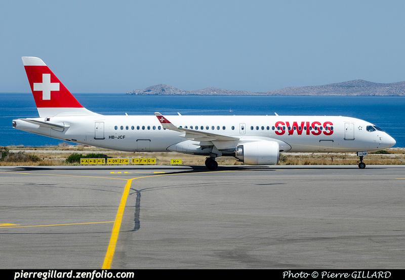 Pierre GILLARD: Swiss International Air Lines &emdash; 2018-707399