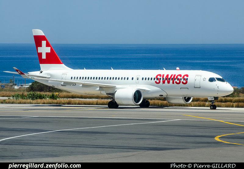 Pierre GILLARD: Swiss International Air Lines &emdash; 2018-707386