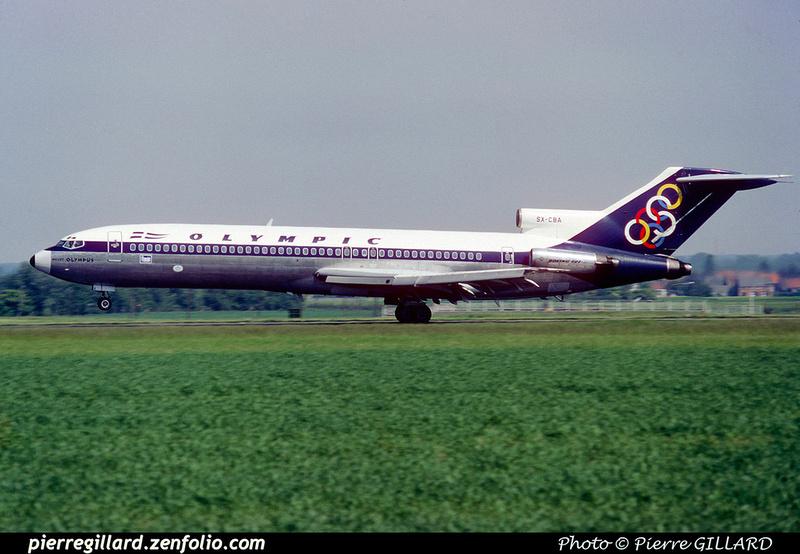 Pierre GILLARD: Olympic Airways/Airlines - Ολυμπιακή Αεροπορία &emdash; 023995