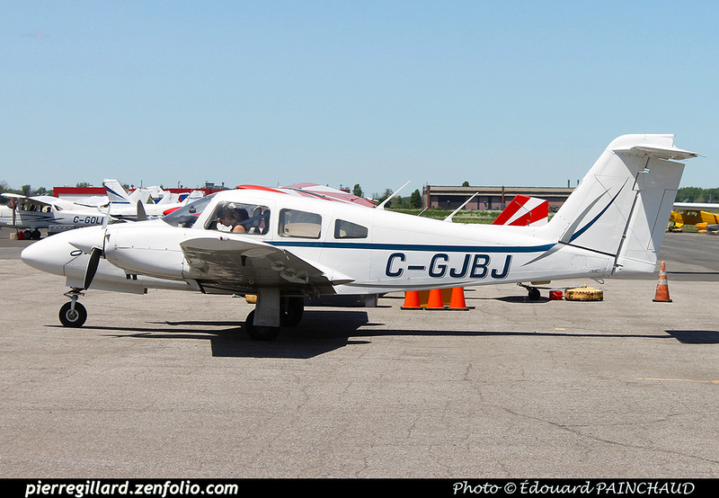 Pierre GILLARD: Aéroclub de Montréal - Air Richelieu &emdash; 030355