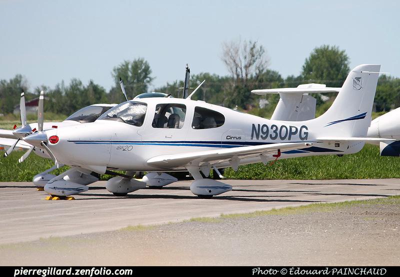 Pierre GILLARD: Private Aircraft - Avions privés : U.S.A. &emdash; 030366