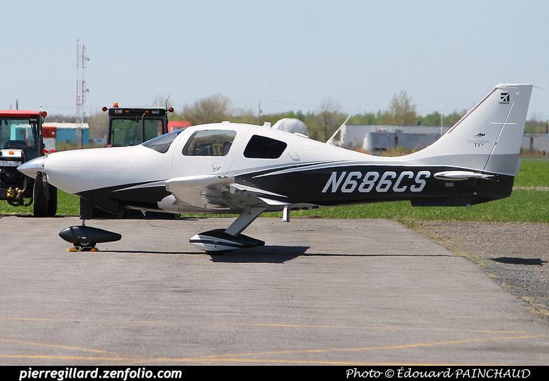 Pierre GILLARD: Private Aircraft - Avions privés : U.S.A. &emdash; 030348