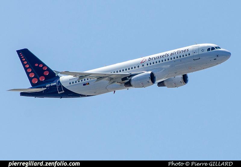 Pierre GILLARD: Brussels Airlines &emdash; OO-SNM-2018-706970