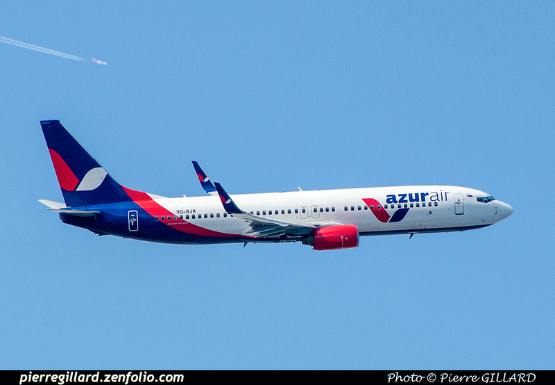 Pierre GILLARD: Azur Air - Азур Эйр &emdash; 2018-707152