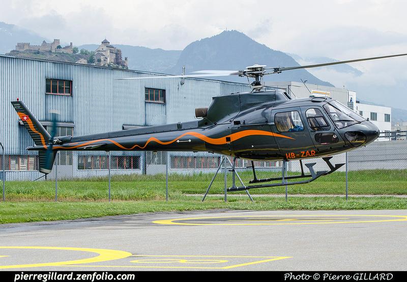 Pierre GILLARD: Switzerland - Hélicoptères privés - Private Helicopters &emdash; 2018-707416