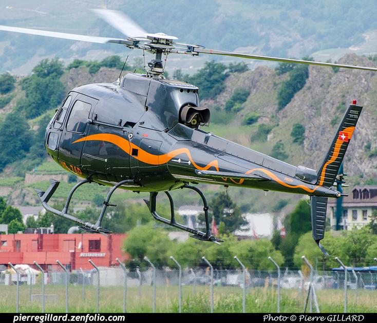 Pierre GILLARD: Switzerland - Hélicoptères privés - Private Helicopters &emdash; 2018-707433