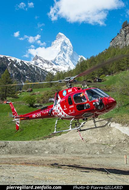 Pierre GILLARD: Air Zermatt : 2018-05-18 - Zermatt &emdash; 2018-524045