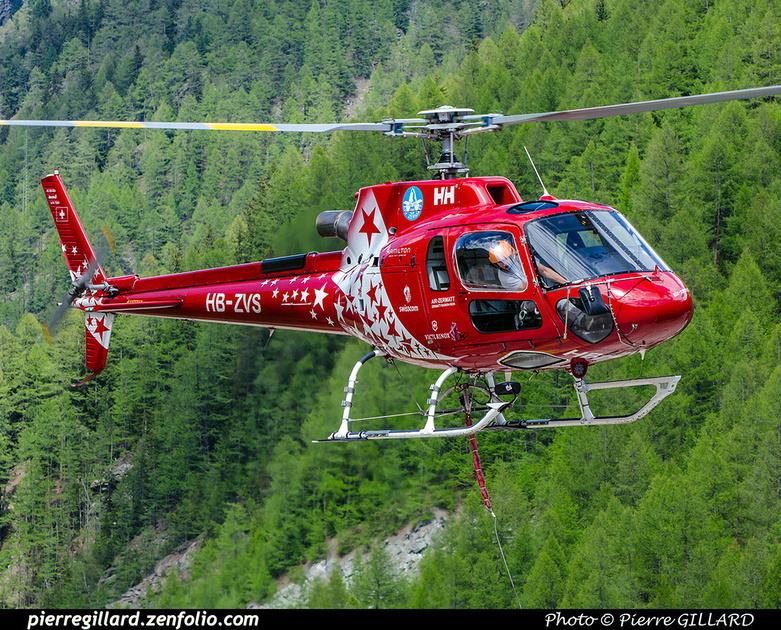 Pierre GILLARD: Air Zermatt - Zermatt Heliport &emdash; 2018-707618