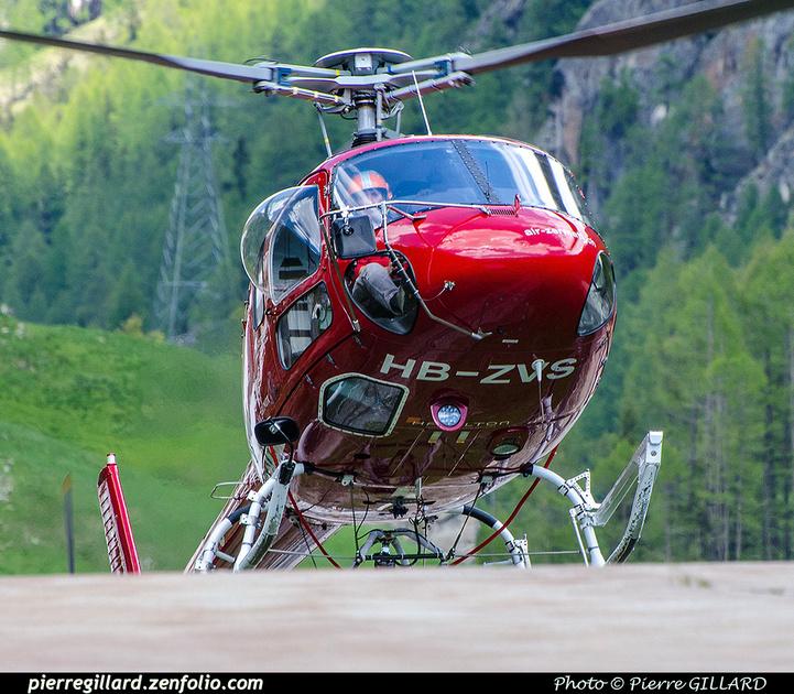 Pierre GILLARD: Air Zermatt - Zermatt Heliport &emdash; 2018-707578