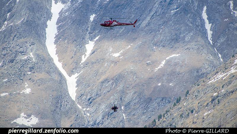 Pierre GILLARD: Air Zermatt - Zermatt Heliport &emdash; 2018-707599