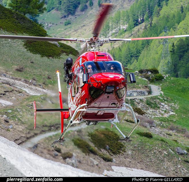 Pierre GILLARD: Air Zermatt - Zermatt Heliport &emdash; 2018-707628