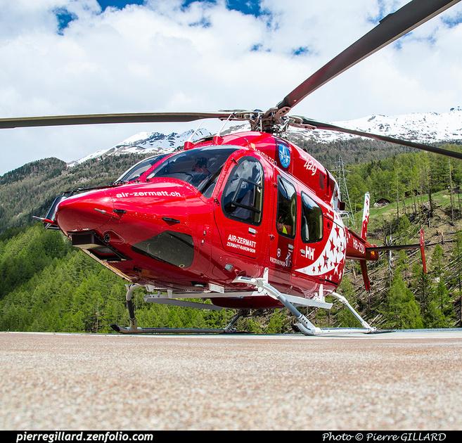 Pierre GILLARD: Air Zermatt - Zermatt Heliport &emdash; 2018-524098