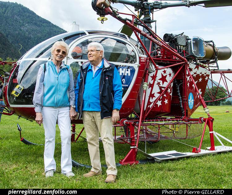Pierre GILLARD: 2018-05-19 - 50 ans d'Air Zermatt à Rarogne (Raron) &emdash; 2018-524114
