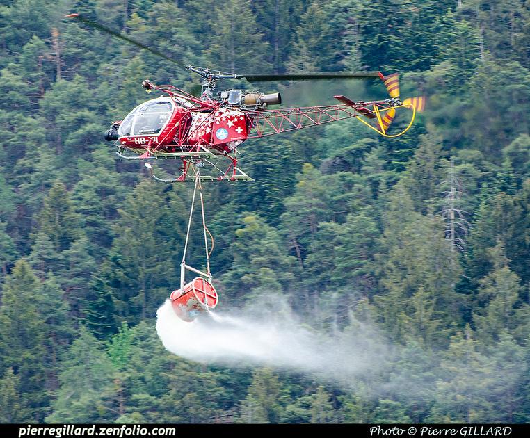 Pierre GILLARD: 2018-05-19 - 50 ans d'Air Zermatt à Rarogne (Raron) &emdash; 2018-707960