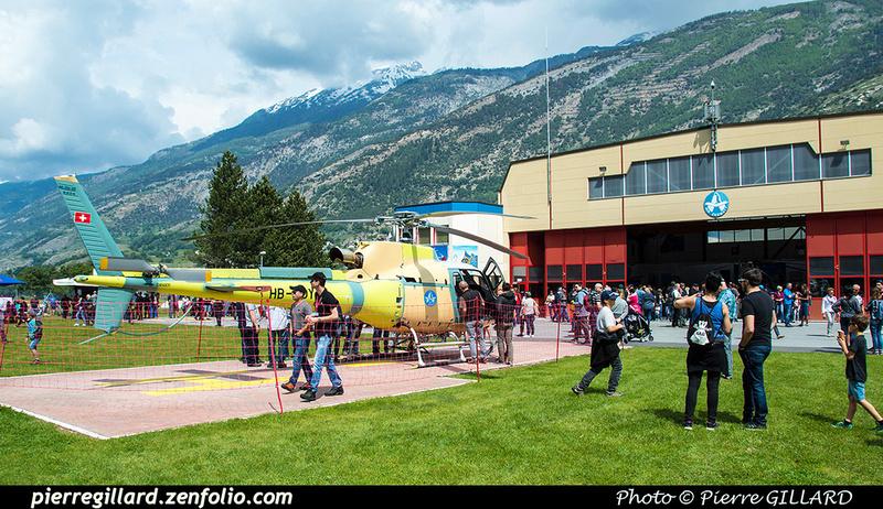 Pierre GILLARD: 2018-05-19 - 50 ans d'Air Zermatt à Rarogne (Raron) &emdash; 2018-524135