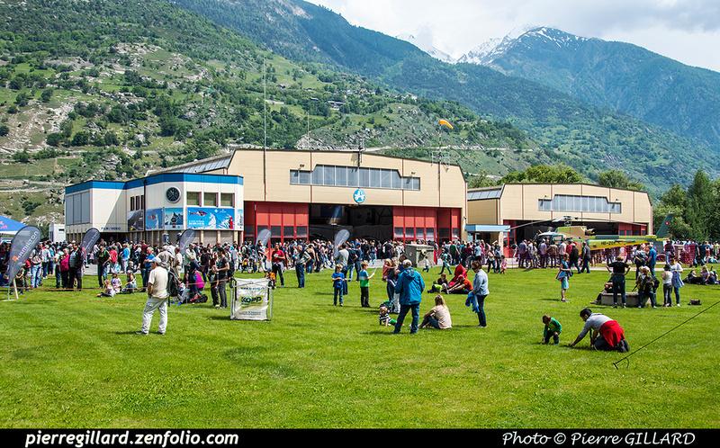 Pierre GILLARD: 2018-05-19 - 50 ans d'Air Zermatt à Rarogne (Raron) &emdash; 2018-524159