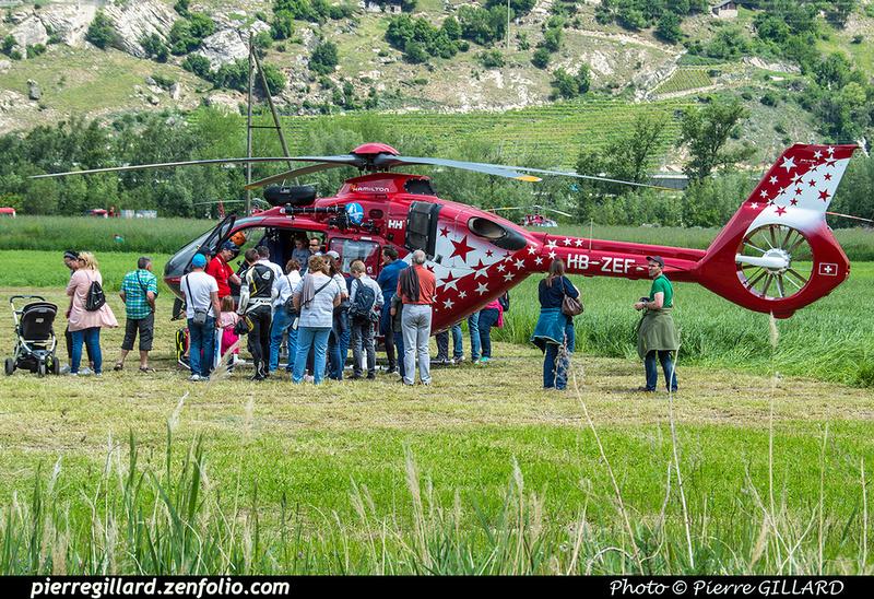 Pierre GILLARD: 2018-05-19 - 50 ans d'Air Zermatt à Rarogne (Raron) &emdash; 2018-524167