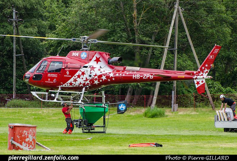 Pierre GILLARD: 2018-05-19 - 50 ans d'Air Zermatt à Rarogne (Raron) &emdash; 2018-708008