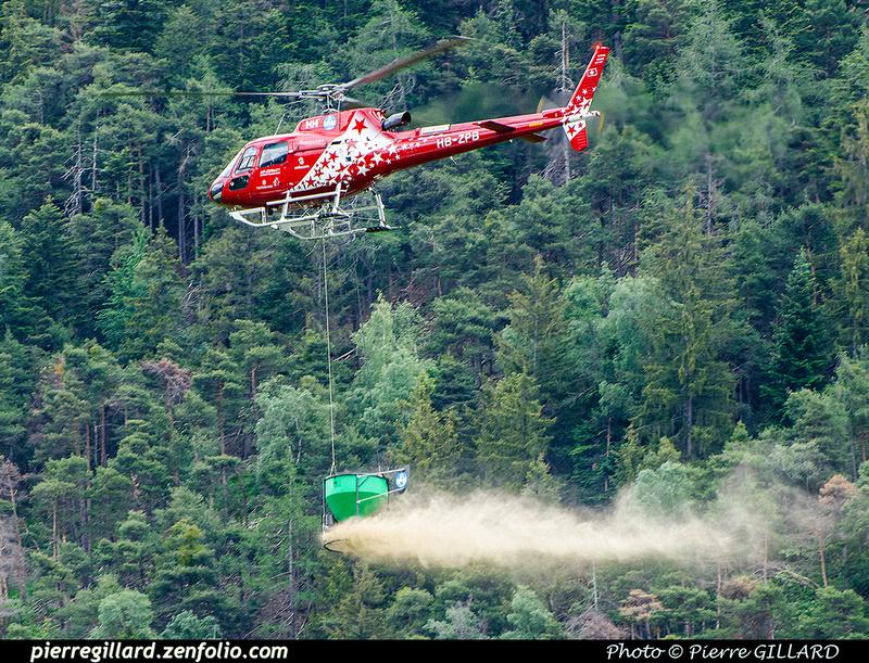 Pierre GILLARD: 2018-05-19 - 50 ans d'Air Zermatt à Rarogne (Raron) &emdash; 2018-708032