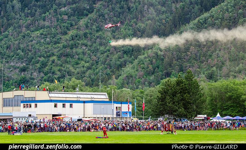 Pierre GILLARD: 2018-05-19 - 50 ans d'Air Zermatt à Rarogne (Raron) &emdash; 2018-708048