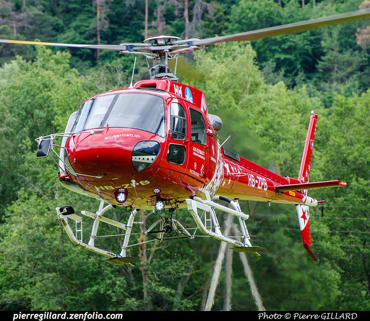 Pierre GILLARD: 2018-05-19 - 50 ans d'Air Zermatt à Rarogne (Raron) &emdash; 2018-708059