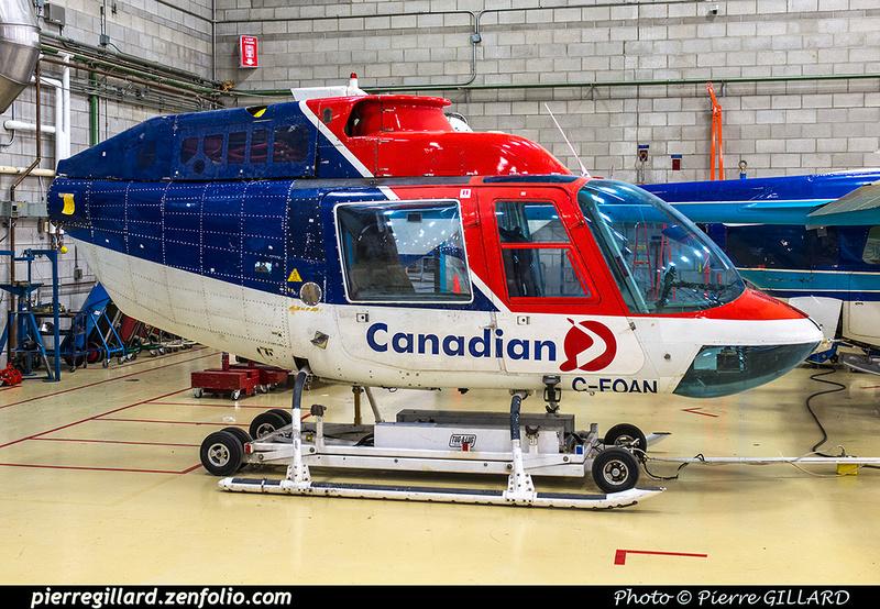 Pierre GILLARD: Bell 206B Jet Ranger II C-FOAN &emdash; 2018-617495