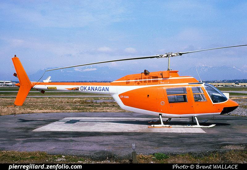 Pierre GILLARD: Canada - Okanagan Helicopters &emdash; 030372