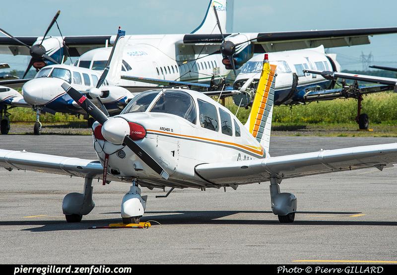 Pierre GILLARD: Private Aircraft - Avions privés : Canada &emdash; 2018-421981