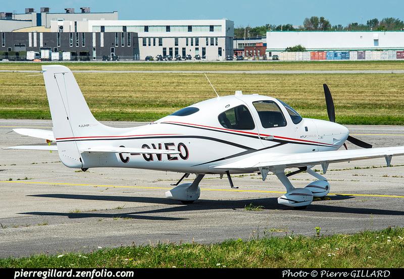 Pierre GILLARD: Private Aircraft - Avions privés : Canada &emdash; 2018-422273