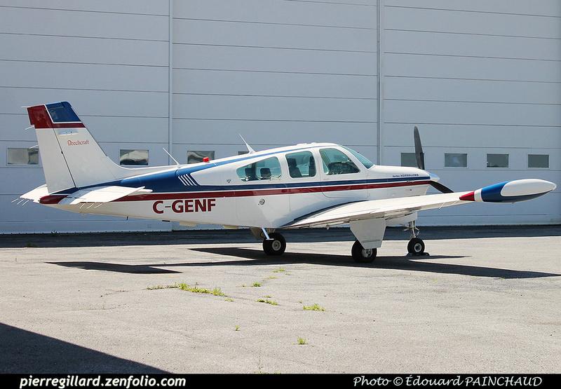 Pierre GILLARD: Private Aircraft - Avions privés : Canada &emdash; 030375