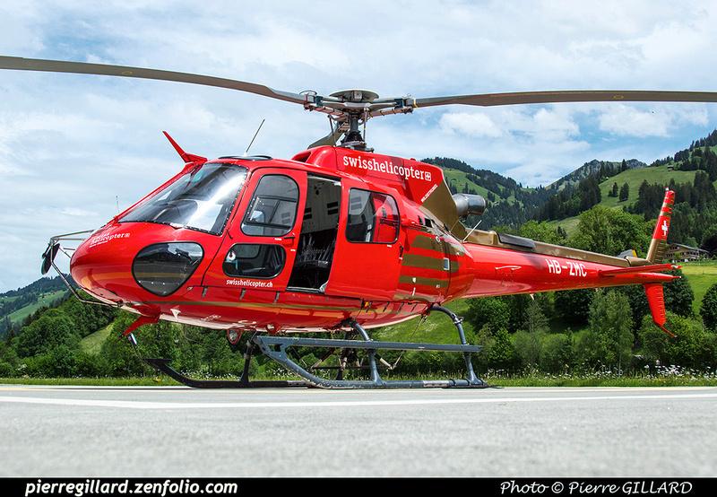 Pierre GILLARD: Switzerland - Swiss Helicopter &emdash; 2018-524754
