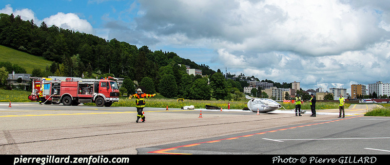 Pierre GILLARD: 2018-05-29 - Simulation d'accident à la Chaux-de-Fonds (Les Éplatures) &emdash; 2018-524810