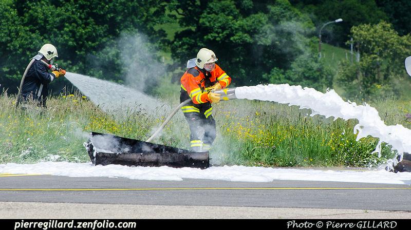 Pierre GILLARD: 2018-05-29 - Simulation d'accident à la Chaux-de-Fonds (Les Éplatures) &emdash; 2018-708374