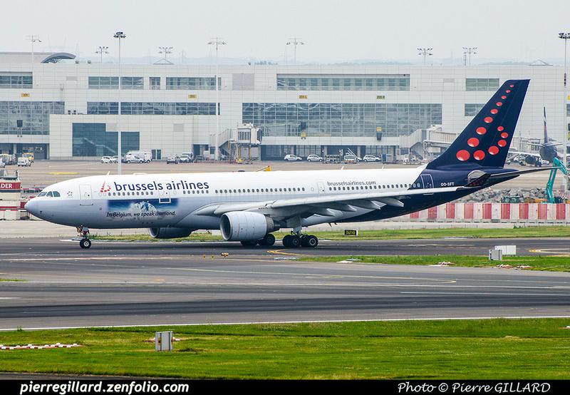Pierre GILLARD: Brussels Airlines &emdash; OO-SFT-2018-708588