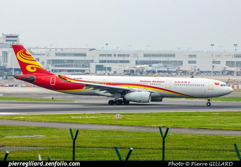 Pierre GILLARD: Hainan Airlines - 海南航空公司 &emdash; 2018-708861