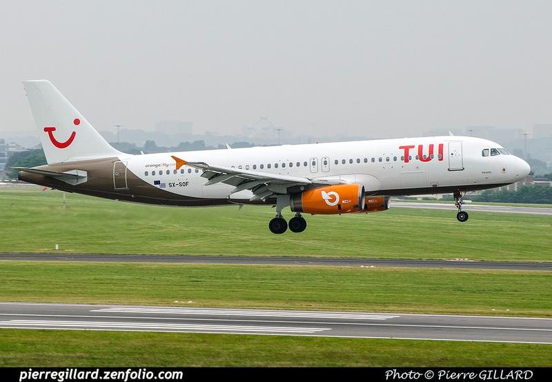Pierre GILLARD: TUI Airlines Belgium &emdash; SX-SOF-2018-708663