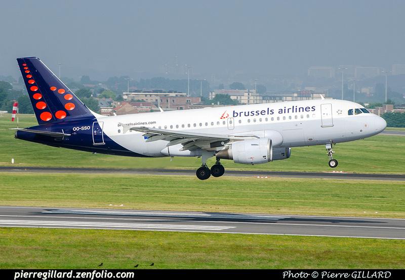Pierre GILLARD: Brussels Airlines &emdash; OO-SSO-2018-709185