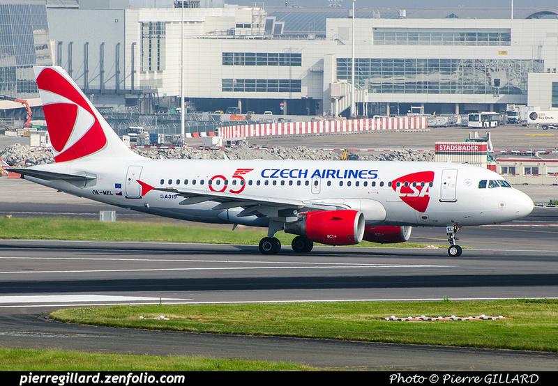 Pierre GILLARD: CSA Czech Airlines - České aerolinie &emdash; 2018-709147