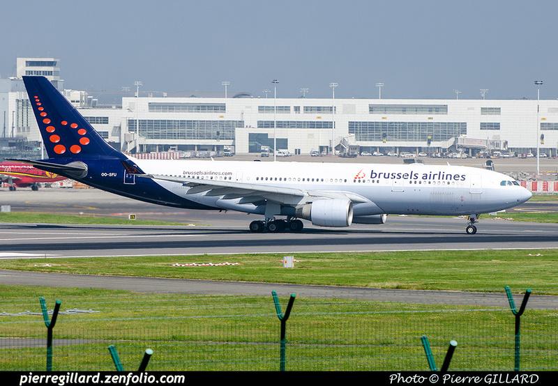 Pierre GILLARD: Brussels Airlines &emdash; OO-SFU-2018-709518