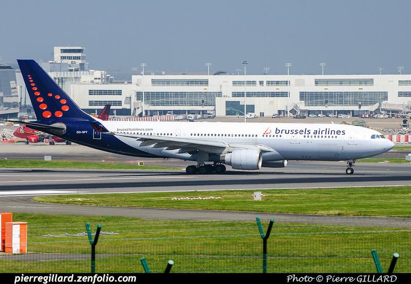 Pierre GILLARD: Brussels Airlines &emdash; OO-SFY-2018-709531